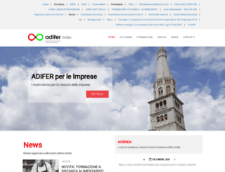 adiferemilia.it screenshot