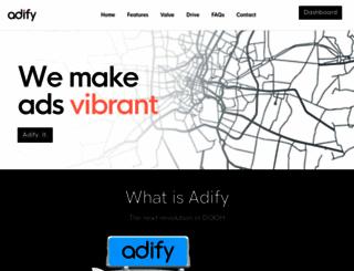 adify.com screenshot