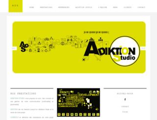 adiktionstudio.com screenshot