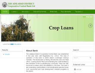adilabaddccb.org screenshot