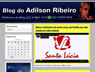 adilsonribeiro.net screenshot