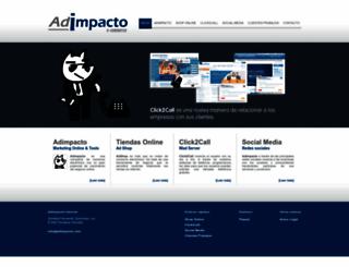 adimpacto.com screenshot