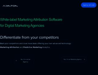 adinton.com screenshot