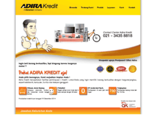 adirakredit.co.id screenshot
