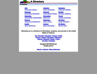 adirectory.us screenshot