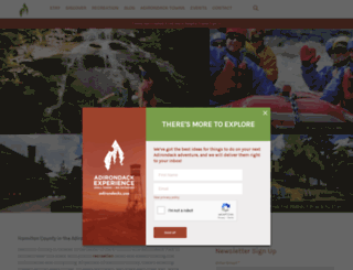 adirondackexperience.com screenshot
