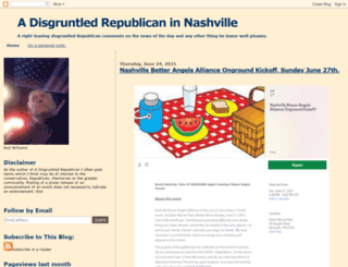 adisgruntledrepublican.blogspot.com screenshot