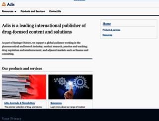 adisonline.com screenshot