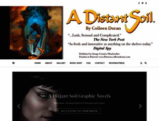 adistantsoil.com screenshot