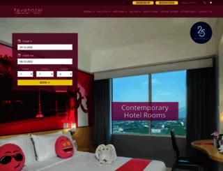 adisuciptosolo.favehotels.com screenshot