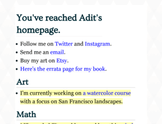 adit.io screenshot