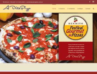 aditapizza.com.br screenshot