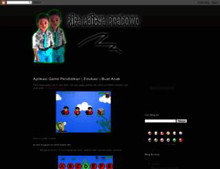adity4prabowo.blogspot.com screenshot