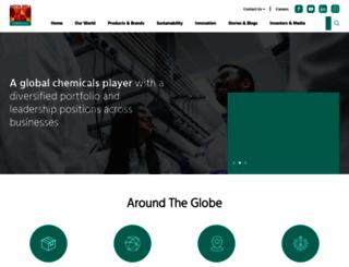 adityabirlachemicals.com screenshot