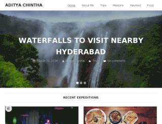 adityachintha.com screenshot