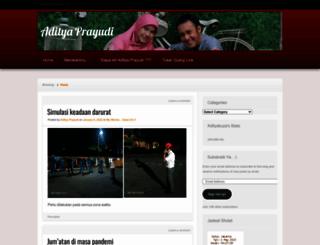 adityakuza.wordpress.com screenshot