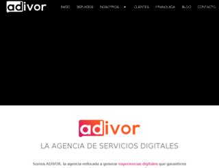 adivor.com.mx screenshot