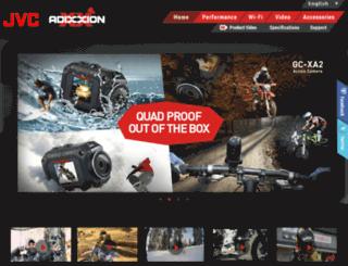 adixxion.jvc.com screenshot