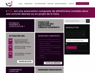 adl-asso.com screenshot