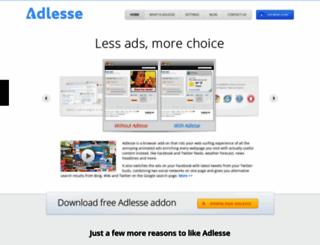 adlesse.com screenshot