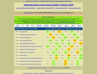 adm.professionaltrainings.com screenshot
