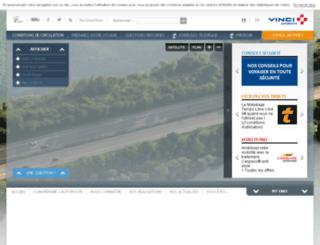 adm.vinci-autoroutes.com screenshot