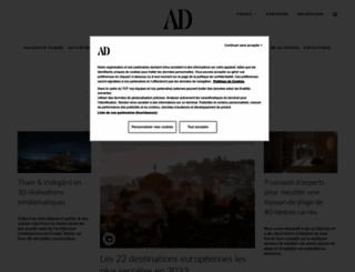 admagazine.fr screenshot