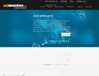 admaniaa.com screenshot