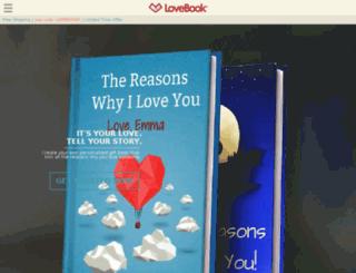 admin-adam.lovebookonline.com screenshot