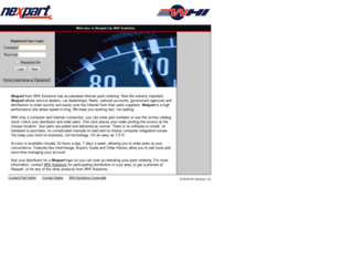 admin-bc0bb14eeb.nexpart.com screenshot