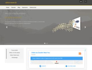 admin-wissen.de screenshot