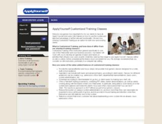 admin.applyyourself.com screenshot