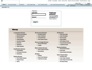 admin.audioholics.com screenshot