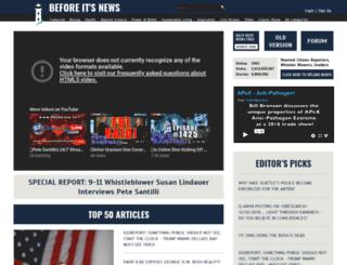 admin.beforeitsnews.com screenshot