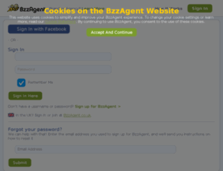 admin.bzzagent.com screenshot