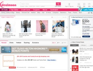 admin.dealmoon.com screenshot