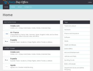 admin.everyday-offers.co screenshot
