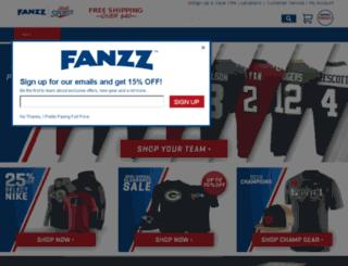 admin.fanzz.com screenshot