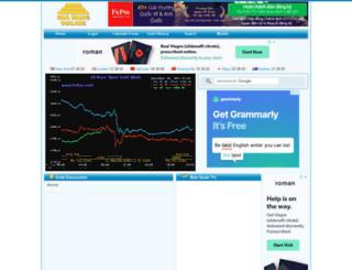 admin.giavangonline.com screenshot