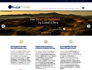 admin.golftravel.co.uk screenshot