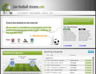 admin.live-football-streams.com screenshot