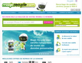 admin.magicrecycle.com screenshot