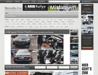 admin.mercedes-fans.de screenshot