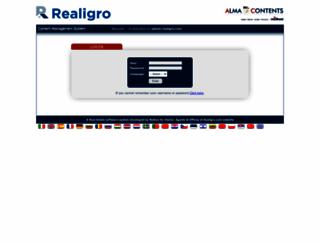 admin.realigro.com screenshot