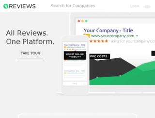 admin.review.io screenshot