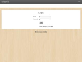 admin.screenie.com screenshot