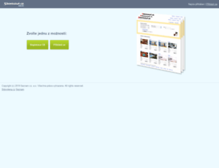 admin.sdovolena.cz screenshot