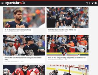 admin.sportsbreak.com screenshot