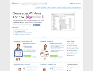 admin.updatestar.com screenshot