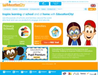 admin1.educationcity.com screenshot